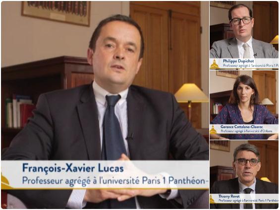 Vidéos réforme droit des contrats