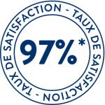 Taux de satisfaction prépa été 2017 95%