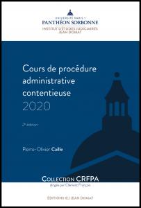 Cours de procédure administrative 2020