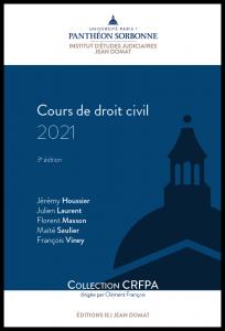 Couverture Cours de droit civil 2021
