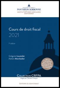 Couverture Cours de droit fiscal 2021