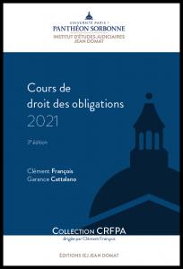 Couverture Cours de droit des obligations 2021