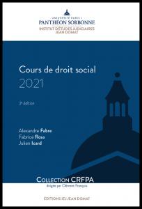 Couverture Cours de droit social 2021